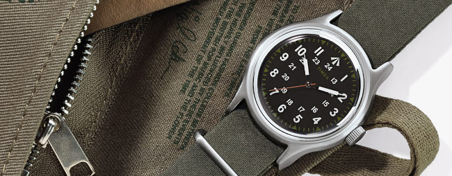 Field Brief: The New Timex X Nigel Cabourn Military-Inspired NAM Watch