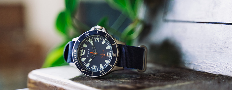 Timex and GREATS' Ryan Babenzien Create the Bayman Watch