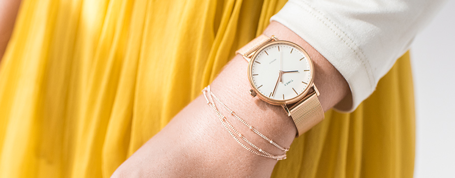 What kind of watch do you wear to a summer wedding?